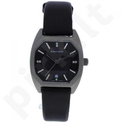 Moteriškas laikrodis Romanson TL1247LWBK