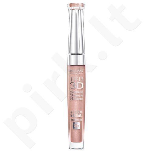 BOURJOIS Paris 3D Effet Gloss, kosmetika moterims, 5,7ml, (49 Rose Pacific)