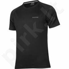 Marškinėliai bėgimui  Hi-Tec Goggi M juoda