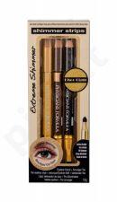 Physicians Formula Eye Pencil + Smudger Trio, Shimmer Strips, rinkinys akių kontūrų pieštukas moterims, (akių kontūrų pieštukas 3 x 0,6 g), (Glam Nude)