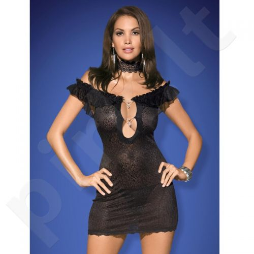 Suknelė Rebeka (juoda) XXL