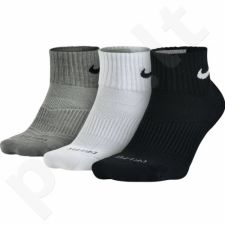 Kojinės Nike 3 poros Dri-Fit Cushion Quarter SX4835-902