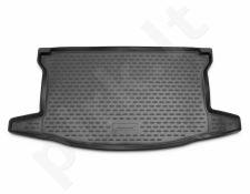 Guminis bagažinės kilimėlis TOYOTA Yaris 2010-2014 hb black /N39028