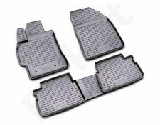 Guminiai kilimėliai 3D TOYOTA Auris 2006-2012, 4 pcs. /L62030G /gray