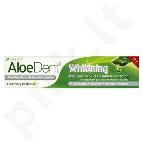 Balinamoji dantų pasta ALOEDENT WHITENING be fluoro, 100 ml