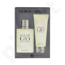 Giorgio Armani Acqua di Gio Pour Homme rinkinys vyrams, (EDT 50ml + 75ml losjonas po skutimosi)