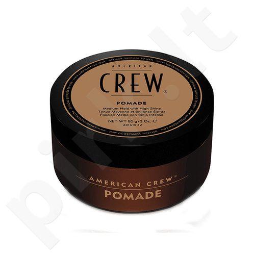 American Crew Pomade plaukų fiksatorius, kosmetika vyrams, 85g