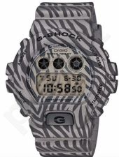 Laikrodis CASIO G-SHOCK DW-6900ZB-8DR CAMO ZEBRA Shock & Magnetic resistant Auto led World time 29 zon 4 daily s Snooze Hourly Time Signal Countdown Timer Full auto-calendar WR 200mt **ORIGIN