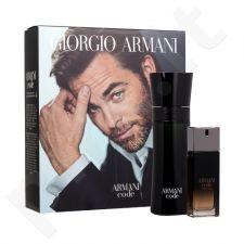 Giorgio Armani Black Code rinkinys vyrams, (EDT 75 ml + EDP Code Profumo 20 ml)