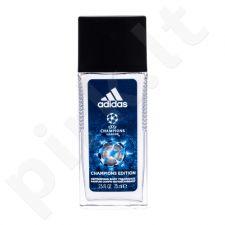 Adidas UEFA Champions League Champions Edition, dezodorantas vyrams, 75ml