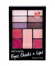 Revlon Eyes, Cheeks + Lips, rinkinys makiažo paletė moterims, (Complete Make-up Palette), (300 Berry In Love)