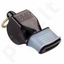 Švilpukas Classic FOX CMG Safety + virvutė 9603-0008 juoda