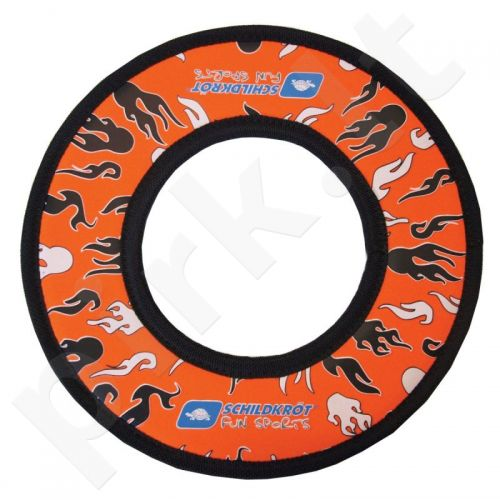 Skraidantis žiedas Frisbee Schildkrot - oranžinis