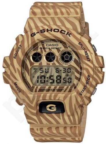 Laikrodis CASIO G-SHOCK DW-6900ZB-9DR CAMO ZEBRA Shock & Magnetic resistant Auto led World time 29 zon 4 daily s Snooze Hourly Time Signal Countdown Timer Full auto-calendar WR 200mt **ORIGIN