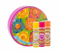 Chupa Chups Lip Balm, rinkinys lūpų balzamas vaikams, (lūpų balzamas 3 x 4 g + Tin Can)