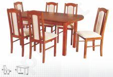 Stalas WENUS-P IV + 6 kėdės BOSS XVI