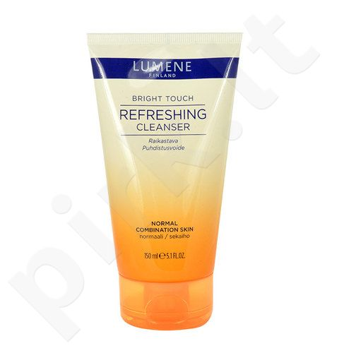 Lumene Bright Touch Refreshing valiklis, kosmetika moterims, 150ml