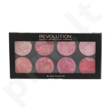 Makeup Revolution London skaistalų paletė, kosmetika moterims, 13g, (Blush Queen)