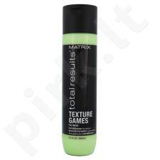 Matrix Total Results Texture Games apimties plaukams suteikiantis kondicionierius, kosmetika moterims, 300ml