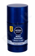 Nivea Men Protect & Care, Body Shaving, skutimosi kremas vyrams, 75ml