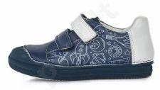 D.D. step tamsiai mėlyni batai 25-30 d. 049902m