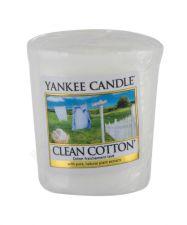 Yankee Candle Clean Cotton, aromatizuota žvakė moterims ir vyrams, 49g