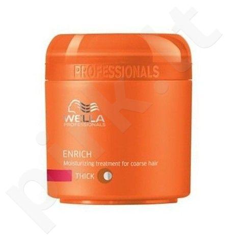 Wella Enrich Mask Thick Hair plaukų kaukė, 150ml, kosmetika moterims