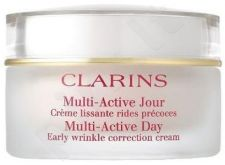 Clarins Multi Active dieninis kremas gelis, kosmetika moterims, 50ml[pažeista pakuotė]
