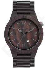 Laikrodis WE WOOD ALPHA BLACK