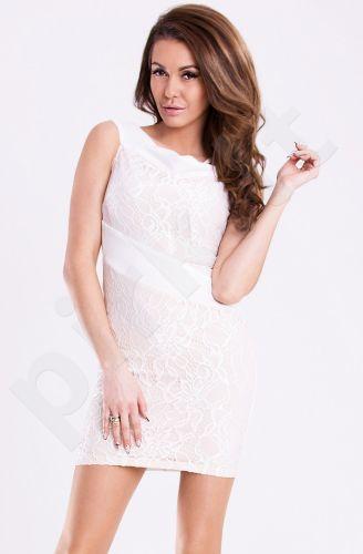 Emamoda suknelė - balta 12011-2