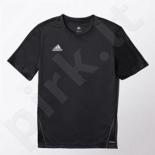 Marškinėliai futbolui Adidas Core Training Jersey Junior S22398
