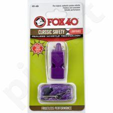 Švilpukas FOX Classic + virvutė 9903-0808 violetinė