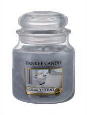 Yankee Candle A Calm & Quiet Place, aromatizuota žvakė moterims ir vyrams, 411g
