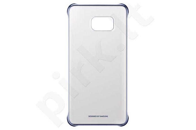 Samsung Galaxy S6 EDGE+ skaidrus dėklas QG928CBE juodas