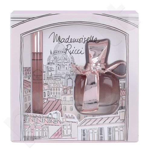 Nina Ricci Mademoiselle Ricci rinkinys moterims, (EDP 50ml + 10ml EDP roll-on)