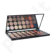Makeup Revolution London nepriekaištingą matinių akių šešėlių paletę, kosmetika moterims, 20g
