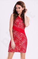 Emamoda suknelė - raudona 12011-3