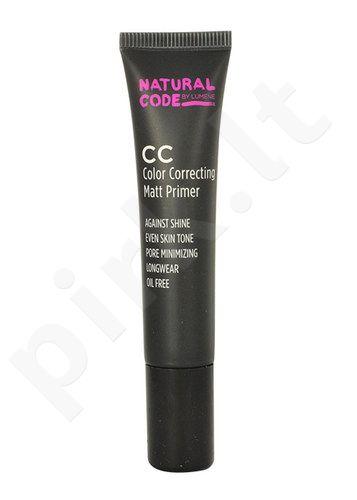 Lumene Natural Code CC Color Correcting Matt Primer, kosmetika moterims, 15ml