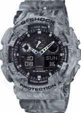 Laikrodis CASIO G-SHOCK GA-100MM-8ADR CAMO MARBLE Limited Edition Shock & Magnetic resistant Auto led World time 29 zon 4 daily s Snooze Hourly Time Signal Countdown Timer Full auto-calendar