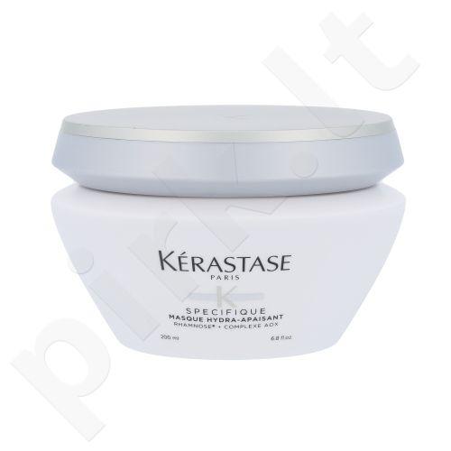 Kerastase Specifique Masque Hydra-Apaisant, Raminamoji plaukų kaukė,kosmetika moterims, 200ml