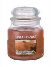 Yankee Candle Warm Desert Wind, aromatizuota žvakė moterims ir vyrams, 411g