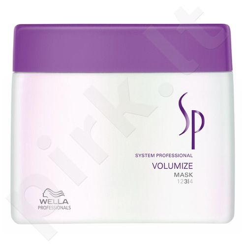 Wella SP Volumize kaukė, 200ml, kosmetika moterims