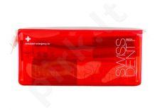 Swissdent Emergency Kit Red rinkinys moterims ir vyrams, (50ml Extreme Whitening Toothpaste + 9ml Extreme Mouth purškiklis + Soft Toothbrush + kosmetika krepšys)