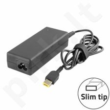 Qoltec Notebook Power Supply for Lenovo 90W | 20V | 4.5A | Slim tip