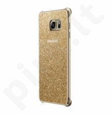 Samsung Galaxy S6 EDGE+ Glitter dėklas XG928CFE auksinis