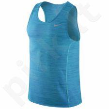 Marškinėliai bėgimui  Nike Dri-FIT Cool Relay M 718346-418
