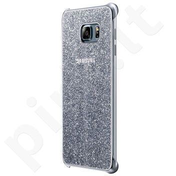 Samsung Galaxy S6 EDGE+ Glitter dėklas XG928CSE sidabrinis