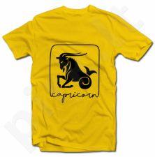 """Marškinėliai su zodiako ženklu """"Ožiaragis"""""""