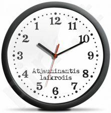 Atjauninantis atgal einantis laikrodis