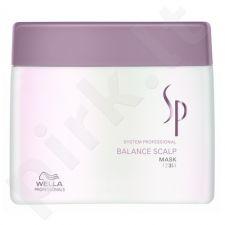 Wella SP Balance Scalp kaukė, 400ml, kosmetika moterims